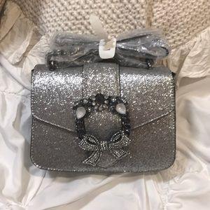 Sparkly Silver Aldo Purse